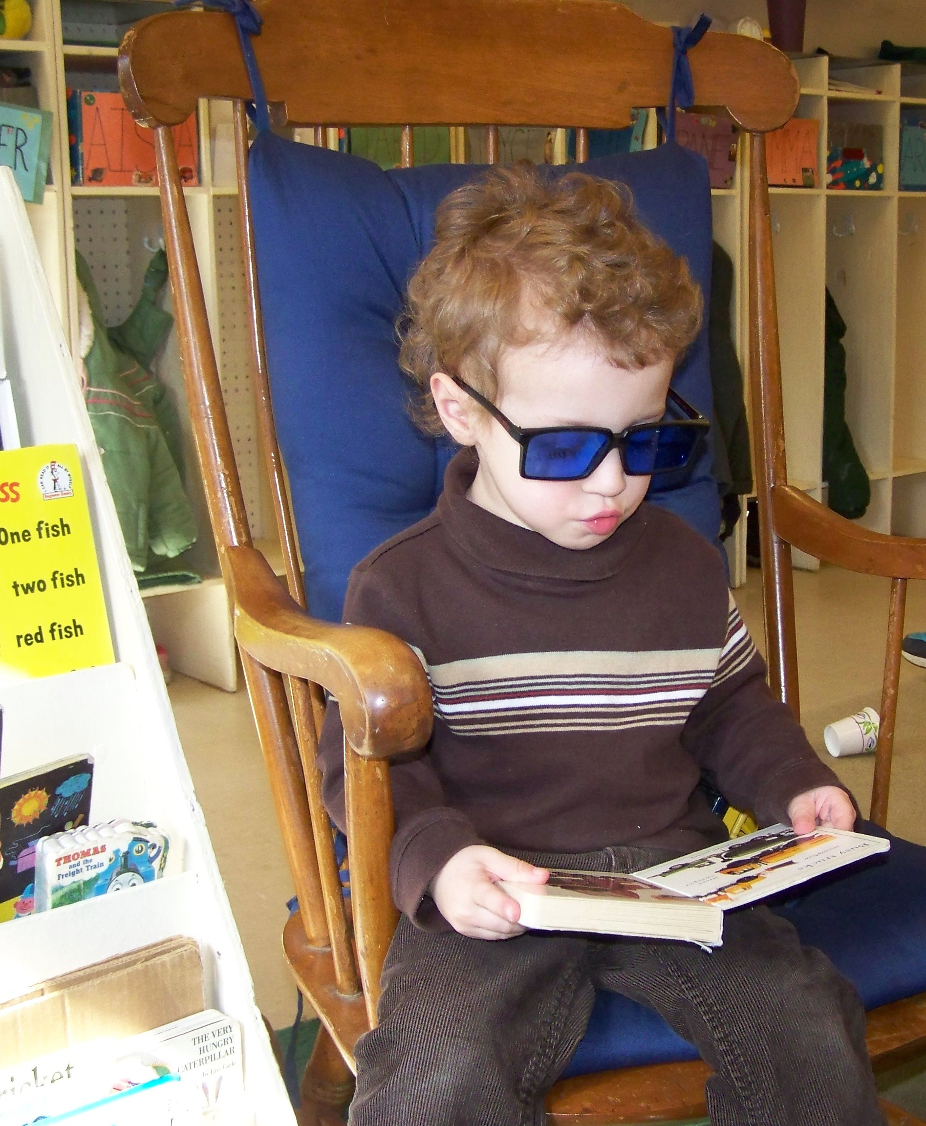 Child with Sun Glasses Photo